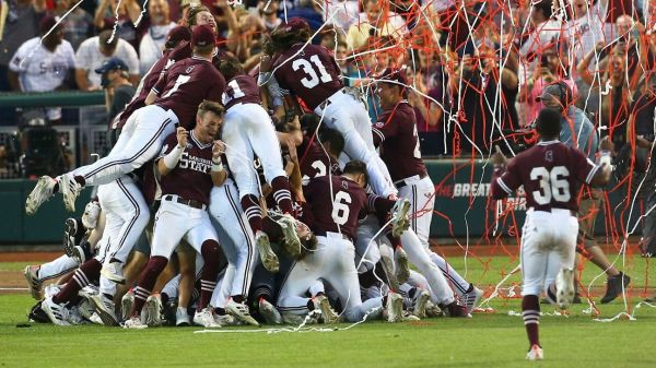 Mississippi State throws combined one-hitter against Vanderbilt to win first College World Series title
