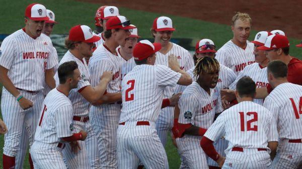 NC State overcomes top Vanderbilt prospect Jack Leiter's 15 Ks in College World Series victory