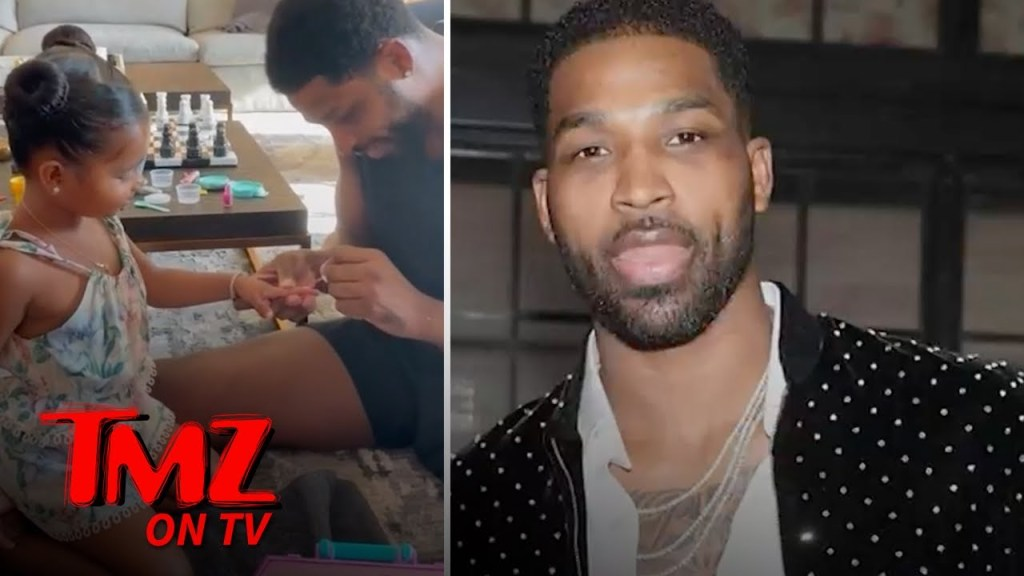 Tristan Thompson Does True's Nails In Attempt To Win Fans Over | TMZ TV