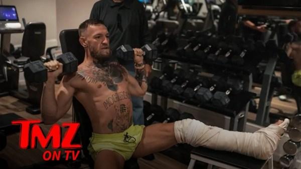 Conor McGregor Gunning For 2022 Return To UFC, 'I'm Improving Rapidly!' | TMZ TV