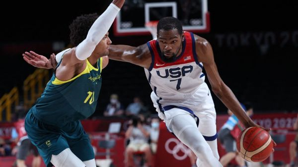 Olympics 2021 updates - U.S. men's hoops rallies to reach gold-medal game, USWNT seeks bronze, plus more track action in Tokyo