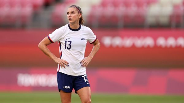 USWNT's Alex Morgan 'devasted' by Canada loss, Megan Rapinoe 'gutted'