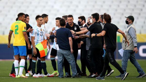 Brazil-Argentina World Cup qualifier halted after health officials intervene