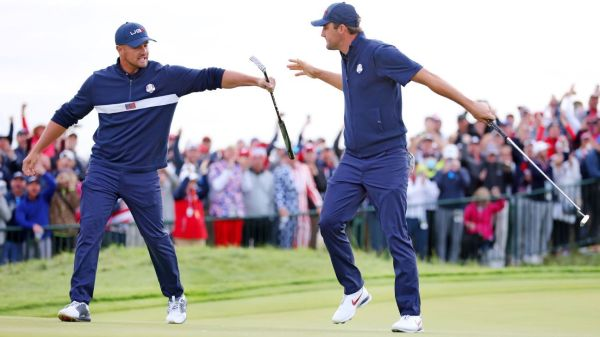 United States takes 11-5 lead, 3 1/2 points away from winning Ryder Cup