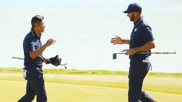 United States wins three of four foursome matches, leads Ryder Cup 9-3