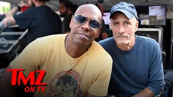 Jon Stewart Says Dave Chappelle's 'Never Hurtful,' Better Communication Needed | TMZ TV