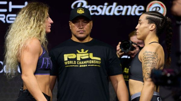 Defending champs Kayla Harrison, Ray Cooper III aiming for another $1 million