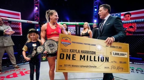 Kayla Harrison can be biggest women's MMA star since Ronda Rousey, more thoughts from the PFL championship