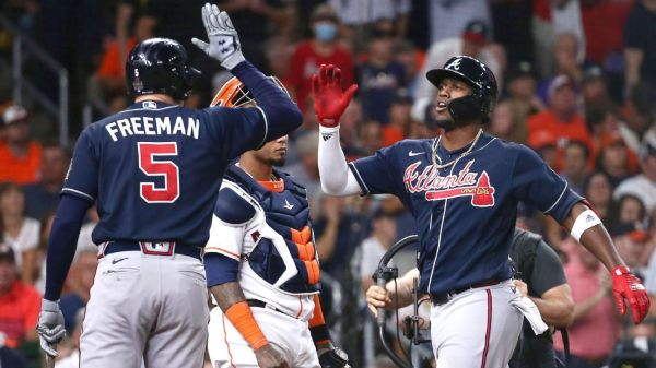 World Series 2021-- Braves and Jorge Soler begin World Series with a bang