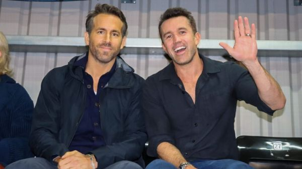 Wrexham owners Ryan Reynolds, Rob McElhenney finally make it to their first live match
