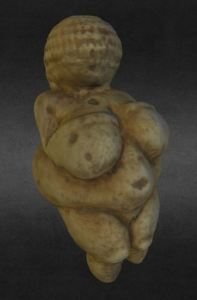 venus of willendorf 3dscanning