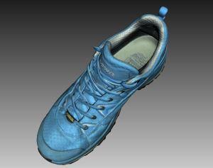 3dscanning hiking shoe