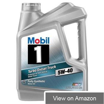 Mobil 1 Turbo Diesel Oil 5W‐40 Review