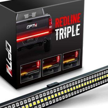 """OPT7 48""""/60"""" Redline TRIPLE LED Tailgate Light Bar Review"""