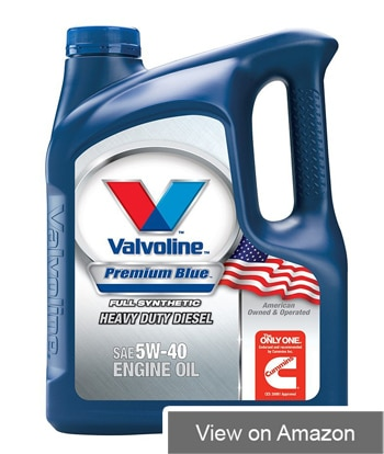 Valvoline Premium Blue Diesel Engine Oil 5W-40/15W-40 Review