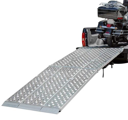 Big Boys EZ River Aluminum Folding 3-Piece Motorcycle Ramp Review