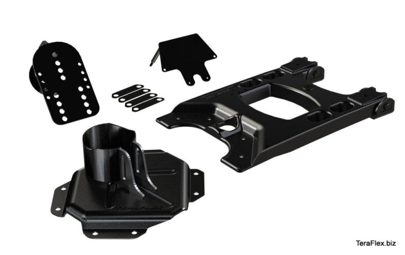 4838150 JK HD Hinged Carrier Tire Mounting Kit