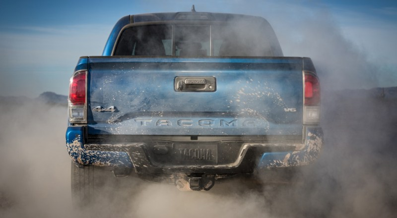 Your favorite midsize pickup just got a fullsize shot of testosterone. #Tacoma