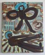 Alex Crocker, Fuzzz War (2012), oil on linen, 56x46cm