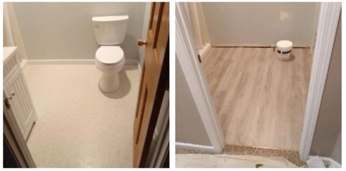 Laminate Flooring Replacement