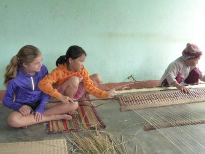 Mat weaving Kim Bong Island