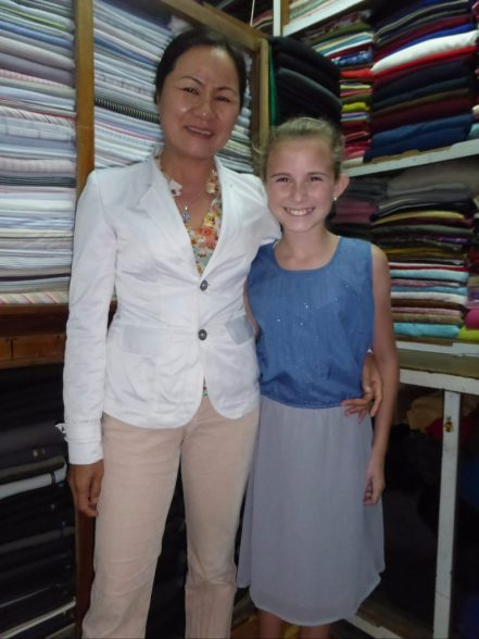 Custom made dress in Hoi An