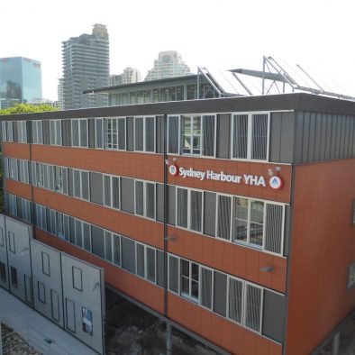 Sydney Harbour YHA located in The Rocks