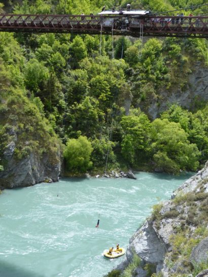 Bungee jumping, Queenstown, New Zealand