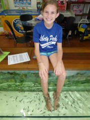 Fish pedicures really tickle!