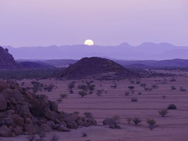 Namibia sunset