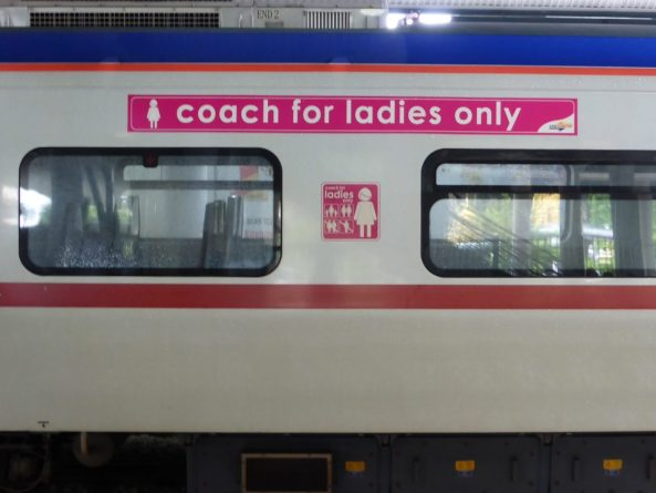ladies only train car Malaysia