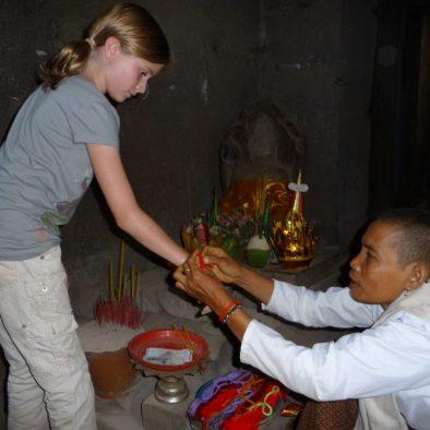 Angkor Wat blessing