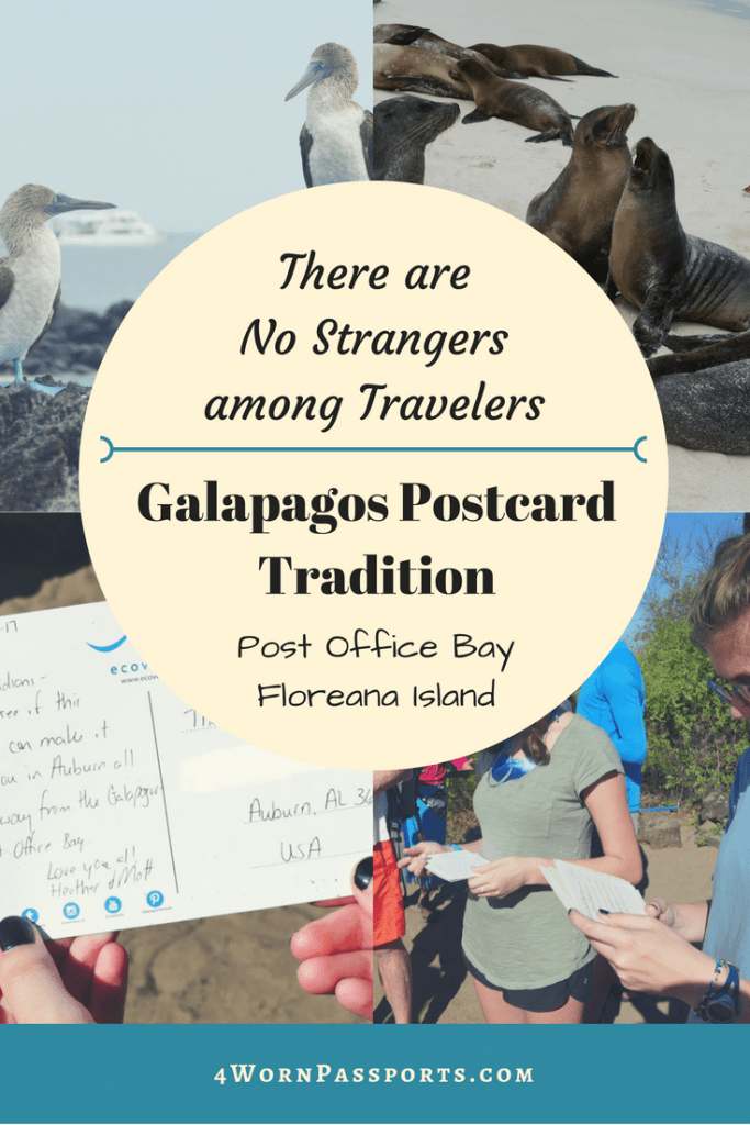Galapagos postal tradition