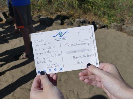 Visiting Post Office Bay in Floreana Galapagos