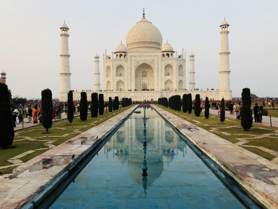 Taj Mahal, the world's greatest monument celebrating love