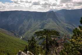Vidikovac nad kanjonom Tare kod sela Bobovo
