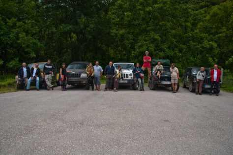 14 učesnika i 5 Jeep-ova - mala, ali sjajna ekipa učesnika ture