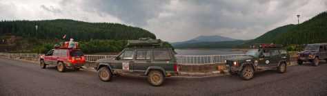 Na brani jezera Oašu
