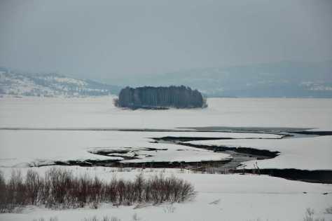 Zaleđeno Vlasinsko jezero