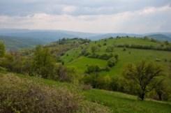 Ка југу таласају зелена брда Хомоља