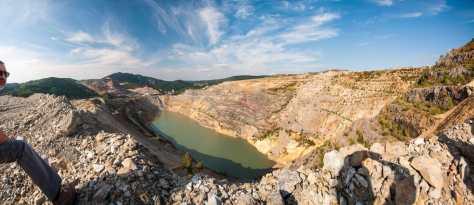 Površinski kop rudnika Majdanpek