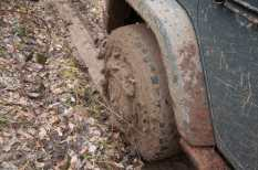 And it was some REAL sticky mud!