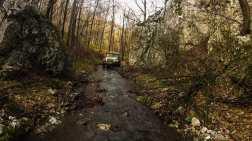 Driving through Tisnica