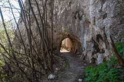 Attractive trail leading to Vernjikica cave