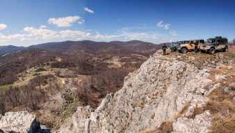 On the Mikulj rock