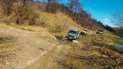 Lots of muddy stream crossings