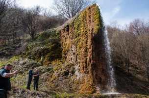 The unique Prskalo waterfall