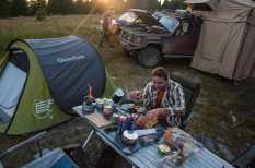 Camping on Bihor
