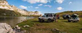 Camping at Captain's lake