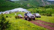 Leaving the Markova Ravan campsite